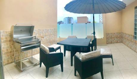 Alquilo Duplex Con Terraza Y Parrilla, Amoblado Full, 3 Dor, 170 M2. Usd 1600