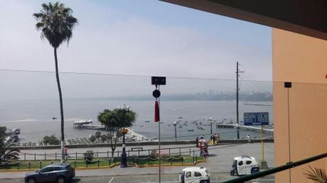Lindo Departamento En Malecon De Chorrillos, Linda Vista Al Mar