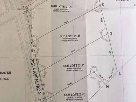 Terreno Industrial 10,000 M2 En Venta En Moche, Ex - Fundo Larrea
