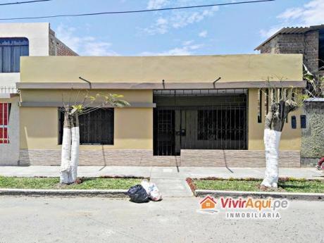 Casa De 01 Piso En Venta En Vista Alegre, Buenos Aires Cerca A La Plaza De Armas
