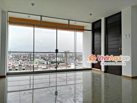 Penthouse En Venta, Amplio Y Moderno, 03 Pisos, Urb. El Recreo, Trujillo