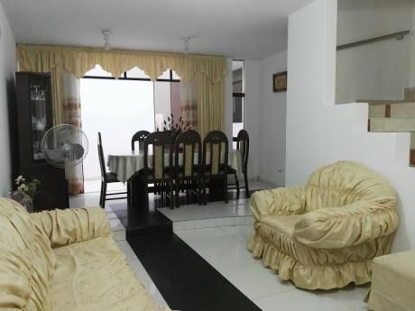 Casa De 03 Pisos En Venta 6 Dorm. Av Metropolitana Urb San Isidro Trujillo