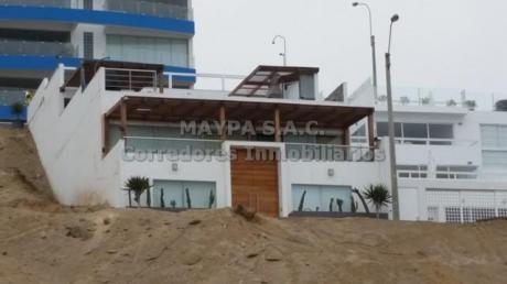 Preciosa Casa De Playa En Caballeros – Segunda Fila - 239 M2