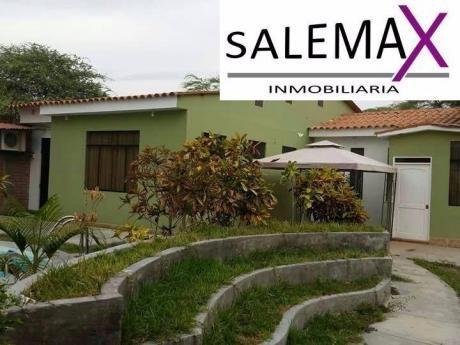 Casa Con Piscina En Alquiler Los Ejidos - Piura