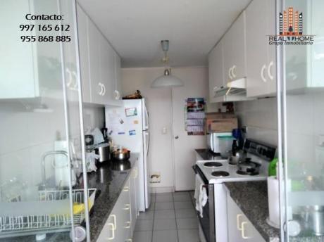 Acogedor Dpto. 3 Dor + C/ser Acabados A1 Granito - Gas - Closet - Balcon