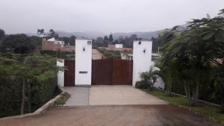 Se Vende Terreno Exclusivo En Condominio Cerrado De 18 Lotes En Pachacamac