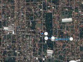 San Lorenzo, Barrio Miraflores, 15 X 30 Sobre Asfalto,en Esquina