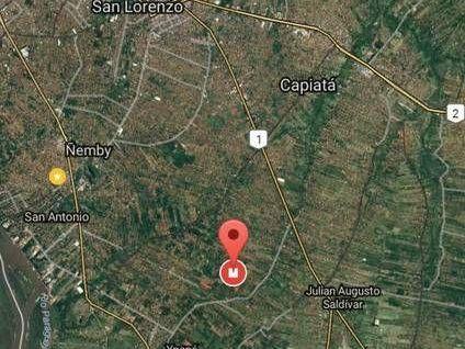 Terreno En Capiata - Thompson, 15 X 28 En Esquina
