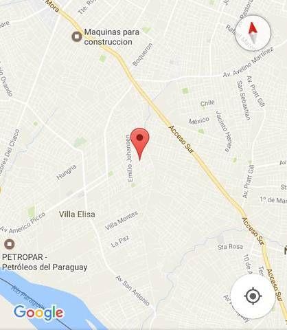 Villa Elisa, Terreno En Esquina 12 X 30, A Mts Del Club Sol De America, Amurallado