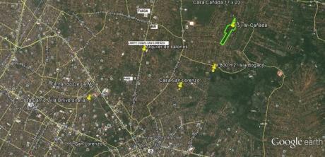 Sobre Ruta Luque-san Lorenzo, Vendo 1.450 M2. Terreno.