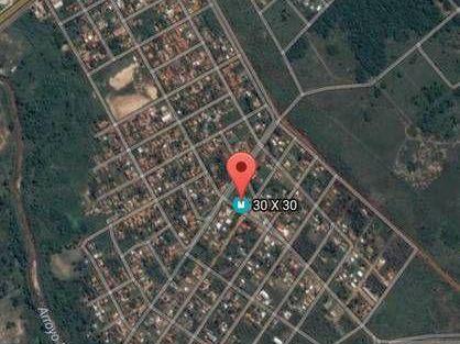 Limpio - Isla Aveiro, 3 Terrenos En Esquina Con Construccion De 15 X 8.