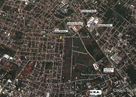 En Barrio Villa Universitaria Detras Del Materno Infantil San Lorenzo