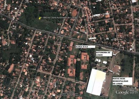 21.940 M2. Zona Universidad Autonoma De Luque, Aldea S.o.s,