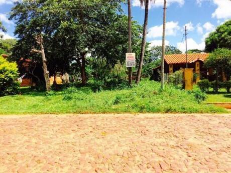 Financio Unico Terreno En Capiata Sobre Empedrado Zona Rojas CaÑada