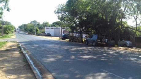 Atencion Ciudad De Limpio!!!!!!! Vendo Sobre Ruta 3 En El Centro De La Ciudad Propiedad Con Un Tinglado