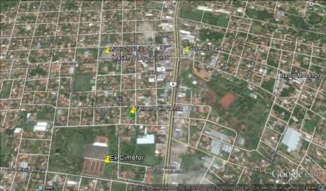 Atencion!!!! Vendo 3 Terrenos Juntos En Pleno Centro De Mariano Roque Alonso