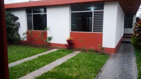 Id - 57721 Vendo Casa Como Terreno Urb. Las Magnolias Miraflores