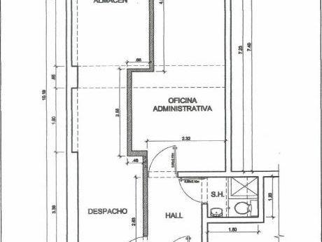 Opotunidad!, Oficina De 48 M2. Varios Ambientes. Exterior. Reformada.