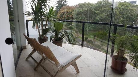 Departamento Con Vista A Parque En Exclusiva Zona De San Isidro