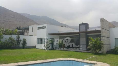 Rinconada Del Lago Hermosa Casa Moderna De Una Planta