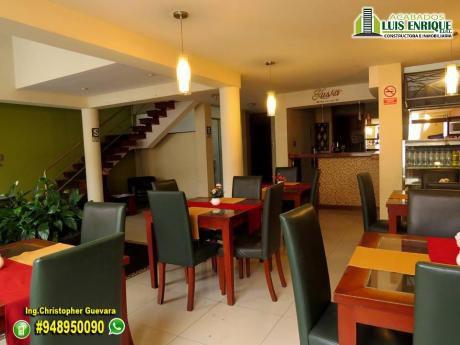 Atención Inversionistas:venta Hotel Tres Estrellas,3cuadras Plazaarmastrujilllo