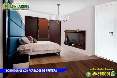 4to Piso, Estreno,90 M2,3 Hab, S/.190,000 (01 Cuadra Mackro - San Isidro - Trujillo)