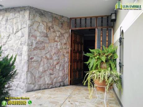 Ocasión! Casa 02 Pisos, 300 M2,310 M2,05 Hab En Urb. San Andres I Etapa - Trujillo