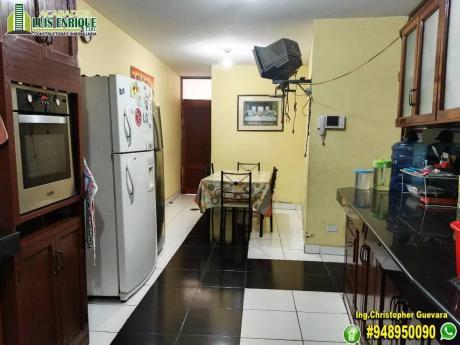 Casa 03pisos, 120 M2,280 M2, 06hab, Urb. San Isidro - Av Metropolitana
