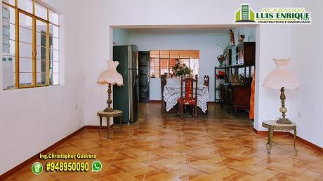 Oportunidad Inversionistas: Casa 1°piso, 300 M2, 05 Hab, Plaza Armas Vista Alegre