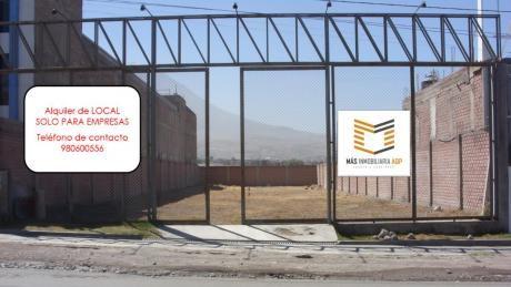 Más Inmobiliaria Aqp Alquila Amplio Local Para Empresas.