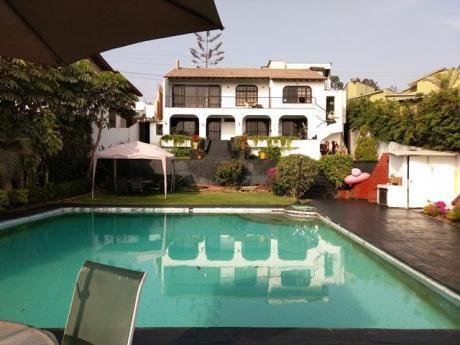 Espectacular Residencia Con Vista A La Laguna