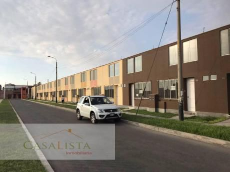 Alquiler Casa De Estreno Urb. San Pedro /condominio Derrama Magisterial 1a Etapa