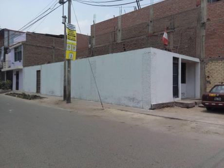 Terreno Comercial En Esquina En Av Cerca Municipalidad Y Frente A Clinica