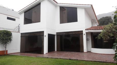 Casa Frente A Parque En Rinconada Del Lago En $510,000