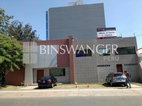 Alquiler De Inmueble De 565 M2 En Ca. Las Camelias - San Isidro