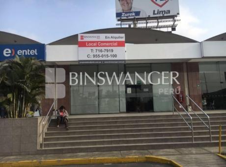 Alquiler De Local Comercial De 273 M2 En Centro Bancario Cono Norte - Los Olivos