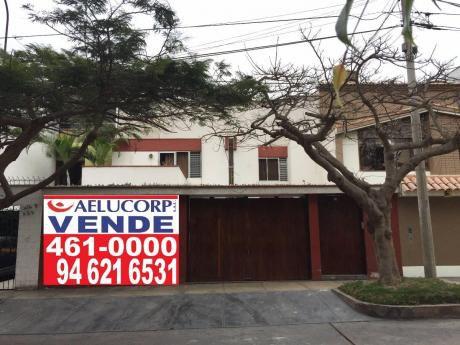 """Casa En Miraflores """"el Rancho"""" 230 M2, Frente A Parque."""
