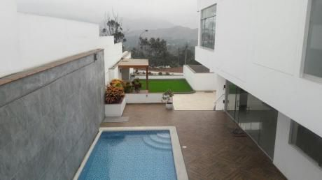 Vendo Hermosa Casa Con Piscina Rinconada Alta La Molina