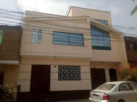 Vendo Amplia Casa Con 10 Habitaciones 1 Departamento Con Jacuzzi - Independencia.
