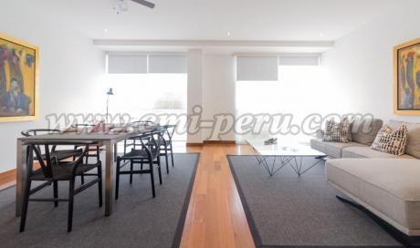 Departamento Sin Muebles En Alquiler En San Isidro