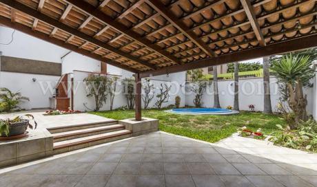 Venta De Casa Amoblada En Surco Limite Con Miraflores