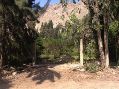 Se Vende Terreno En Cienguilla 1500 M2 Para Casa De Campo O C. Recreacionales