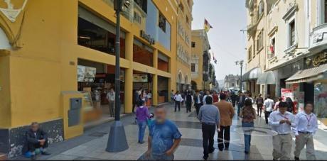 Vendo Local En Pleno Jr. De La Union - Cuadra 4 - Puerta A La Calle - Ubicadisimo