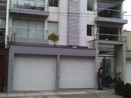 Alquiler De Departamento Duplex Amoblado En San Borja, Av Boulevard