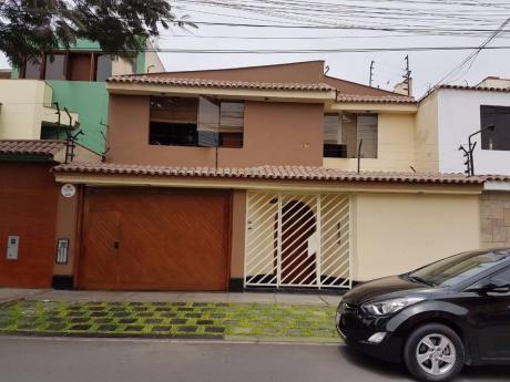 Venta De Hermosa Casa En La Molina, Urb Santa Patricia