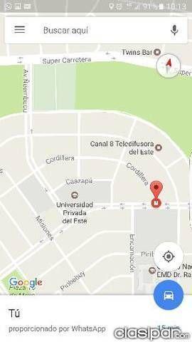 TERRENO: Vendo 4 Lotes Juntos En Area 5 Pdte. Franco 1,5 Cuadra De La Upe en Presidente Franco