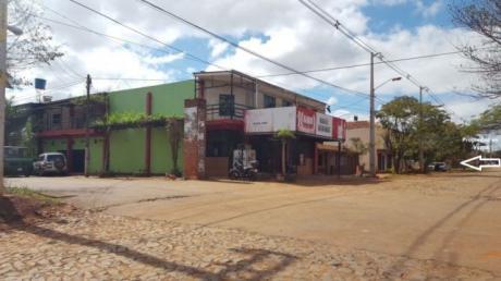 Vendo Terreno Sobre Ruta Internacional N° 7 En Km. 13.800 Acaray