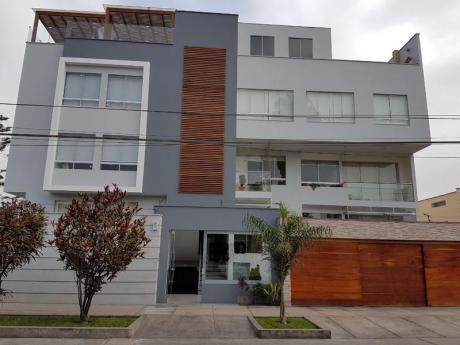 Duplex De Extreno Ubicado Entre Las Av Artes Norte Y La Av San Borja Norte