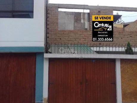 Casa/terreno En Venta - Chorrillos