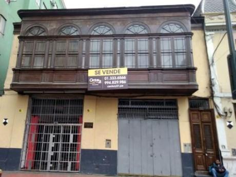 Venta - Galería Artesanal En Centro Histórico Lima